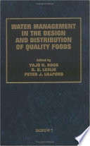Water Management in the Design and Distribution Quality of Foods