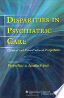 Disparities in Psychiatric Care