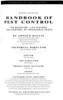 Handbook of Pest Control