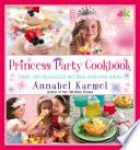 Princess Party Cookbook Book