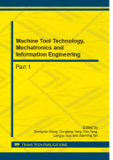 Machine Tool Technology  Mechatronics and Information Engineering