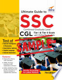 Free Sample Ultimate Guide To Ssc Combined Graduate Level Cgl Tier I Tier Ii Exam With 3 Online Practice Sets 7th Edition