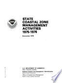 State Coastal Zone Management Activities