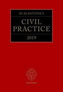 Blackstone s Civil Practice 2019