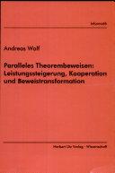 Paralleles Theorembeweisen: Leistungssteigerung, Kooperation und Beweistransformation