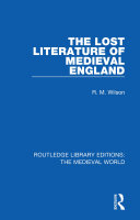 The Lost Literature of Medieval England Pdf/ePub eBook