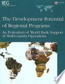 The Development Potential of Regional Programs