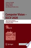 Computer Vision     ECCV 2020