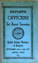 Report of the General Officers to the     Convention Book PDF