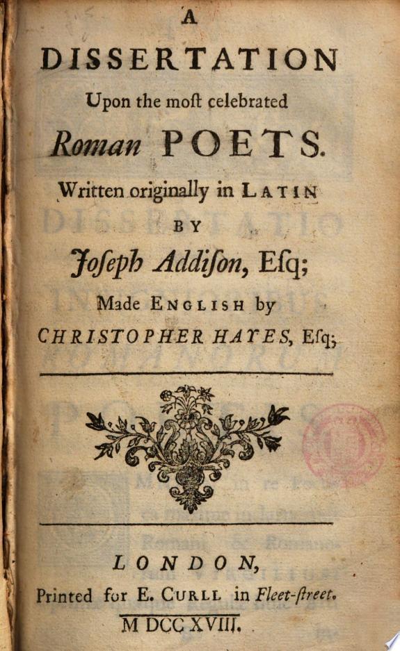 Dissertatio de insignioribus Romano