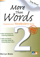 More Than Words Secondary 2