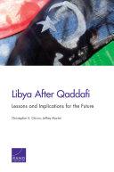 Pdf Libya After Qaddafi Telecharger