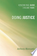 Doing Justice  Knowing God Book