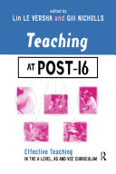 Teaching at Post-16