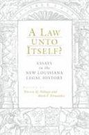 A Law Unto Itself?