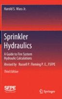 Sprinkler Hydraulics