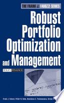 Robust Portfolio Optimization And Management