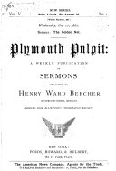 Pdf Plymouth Pulpit