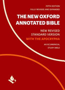 Cover of The New Oxford Annotated Bible with Apocrypha