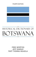 Historical Dictionary of Botswana
