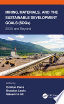 Mining, Materials, and the Sustainable Development Goals (SDGs)