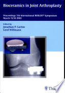Bioceramics In Joint Arthroplasty Book PDF