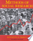 Methods of Social Research Book