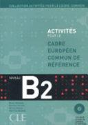 Cover of Activités pour le cadre européen commun de référence