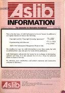 Aslib Information