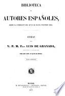 Obras del v. p. m. fray Luis de Granada