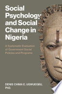 Social Psychology And Social Change In Nigeria