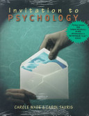 Invitation to Psychology Book