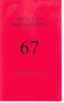 Pdf French XX Bibliography, issue #67 Telecharger