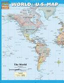 World   U S  Map Book