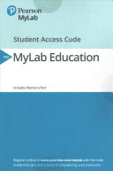 MyLab Education with Pearson EText    Access Card    for Elementary and Middle School Mathematics