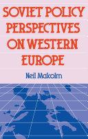 Soviet Pol Perspect W Europe Pdf/ePub eBook