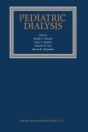 Pediatric Dialysis Book