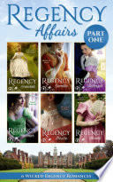 Regency Affairs Part 1  Books 1 6 Of 12 Book