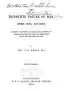 The Tripartite Nature of Man  Spirit  Soul  and Body