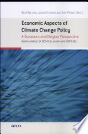 Economic Aspects Of Climate Change Policy