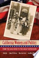 California Women and Politics