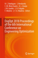 EngOpt 2018 Proceedings of the 6th International Conference on Engineering Optimization