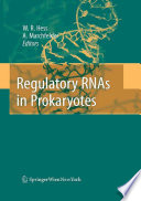Regulatory RNAs in Prokaryotes