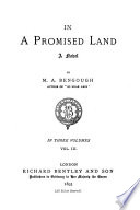 In a Promised Land Book