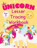 Unicorn Letter Tracing Workbook