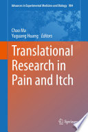 Translational Research In Pain And Itch Book PDF
