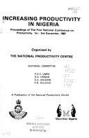 Increasing Productivity In Nigeria