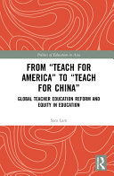 "From ""Teach For America"" to ""Teach For China"""