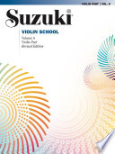 Suzuki Violin School Volume 8 Revised