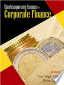 Contemporary Issues In Corporate Finance PDF